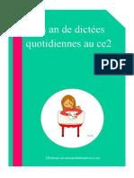 Dictées Quotidiennes BO 2016 - Ce2-Blog1ok