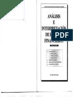 Analisis e Interpretación de Los Estados Financieros