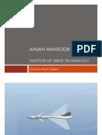 Aero Vehicle Design - Ground Attack Fighter Conceptual Design