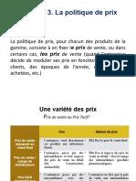 Chapitre Prix MarketOp