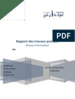 rapport de Tp reseau