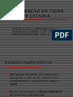 Quadro Teórico Ficha de leitura MP