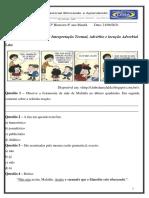 ATIVIDADE  8 ANO 21 DE JUNHO  português  PROF FLÁVIA OLIVEIRA (1)