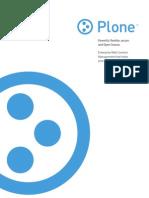 Plone Brochure