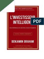 l Investisseur Intelligent de Benjamin Graham