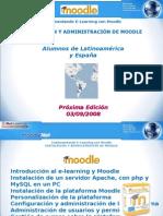 Instalación y Administración de Moodle