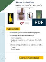 PPT_Unidad 1_Sesión 1_Reacciones Redox
