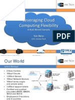 Leveraging Cloud Computing – A Consolidation Case Study