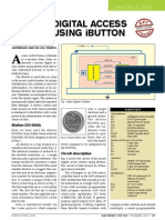 secure digital acess system using ibutton