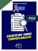 [JTA]+EXERCICIOS+COMPORTAMENTO
