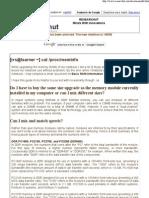 RESEARCHUT -- Basic RAM Information