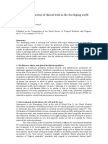 Ethical Considerations of Clinical Trials in the Developing World
