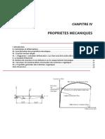 cours Propietes mécaniques pour chimie des matériaux