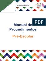 Manual de Procedimentos – Pré-Escolar (3)