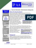 HIPAA Administrative Safeguards