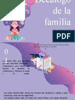 familia f