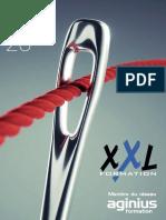 Catalogue Xxlformation
