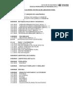 Especificaciones Tecnicas - Arquitectura