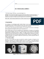Prototypage Rapide Et Fabrication Additive