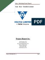 Voltas-Mktg Project Report