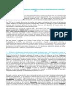 Ejercicio de los DERECHOS HUMANOS de la población Proyecto NMP 2020-2021