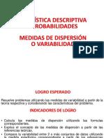 Semana 5- Medidas de Dispersión