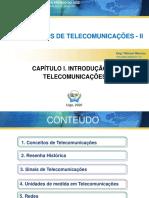 Cap_1 - Introdução às Telecomunicações