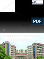 HOSPITAL PHARMACY MANAGEMENT