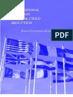 International Forum on Parental Child Abduction Hague Convention Action Agenda