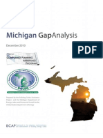 Michigan Gap Analysis Report