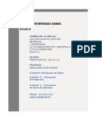 Actividad 6_ Presupuesto de Gastos de Operación _U1903065W0450