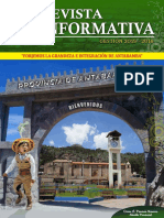 REVISTA INFORMATIVA DE LA PROVINCIA ANTABAMBA 2015 - 2018