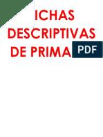 Fichas Descrip`Tivas Primaria Material Didactico