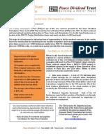 Tender Distribution Service Impact Assessment Study