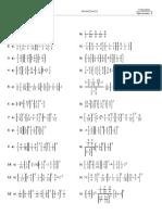 deggggggggEjercicios resueltos de fracciones. Operaciones. Colección B. MasMates. Matemáticas de Secundaria