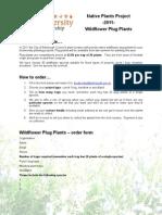 Edinburgh Biodiversity Partnership 2011 Order Form