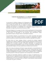 280211 Comunicado de prensa OIA Polines