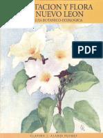 VEGETACIÓN Y FLORA DE NUEVO LEÓN, una guía botánico - ecológica