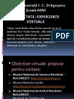 Experiențe virtuale
