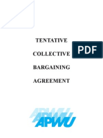 USPS, APWU Tentative Contract Agreement