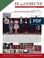 Notizie Dal Comune di Borgomanero del 9-07-2021