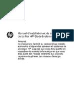 HPE_c03694085_Manuel d'installation et de configuration du boîtier HP BladeSystem c3000