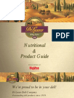 DI LUSSO Nutrition and Product Guide