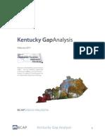 Kentucky Gap Analysis MASTER