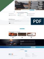 Webdesigning Maquette de page d'accueil