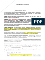 Direito administrativo - 01 - Regime juridico administrativo