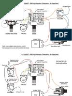 Sonorus CP550ST (Diagrama de ligação)