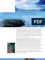 America the Ocean and Climate Change Key Findings