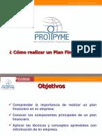 CLASS 7 -  Cómo realizar un Plan Financiero