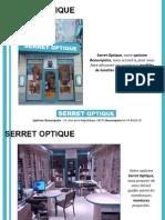 Opticien à Beaurepaire - Serret Optique